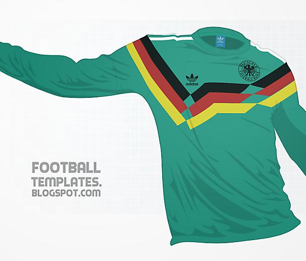 Adidas Originals : 1991 Germany Away