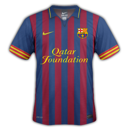 Fantasy Barcelona Shirt