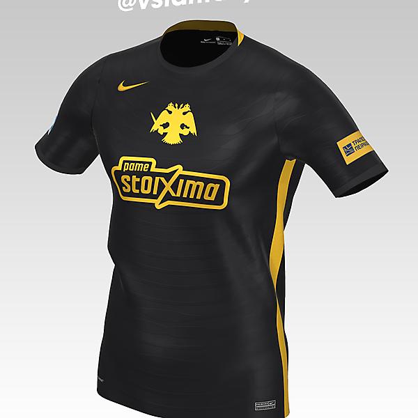 AEK Athens FC Away kit with Nike