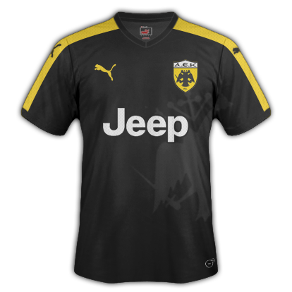 AEK Away kit for 2015/16 with Puma
