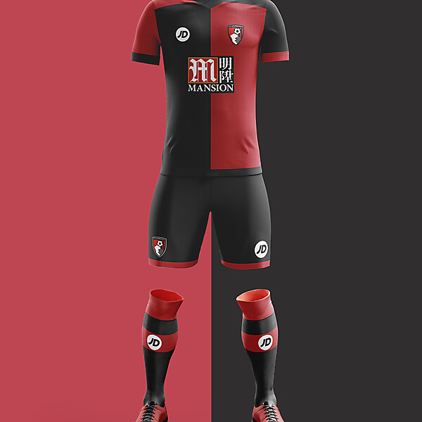 AFC Bournemouth Home Kit 2016/17