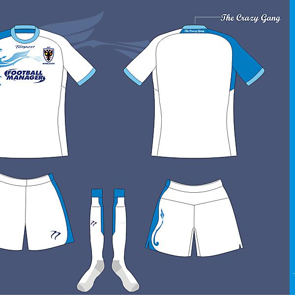 AFC Wimbledon Away kit version 1