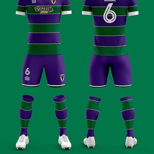 AFC Wimbledon Fourth Kit