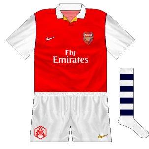 Arsenal 50s throwback set