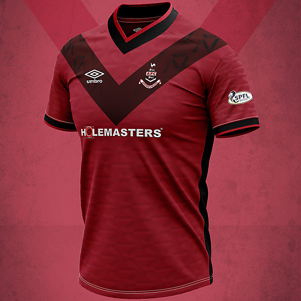 Airdrieonians Away 2020 Concept