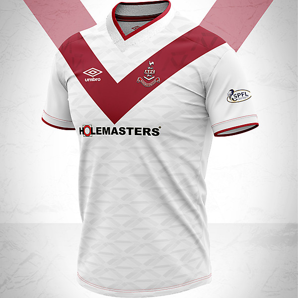 Airdrieonians Home 2020 Concept