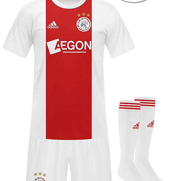 Ajax 2014-2015 Home