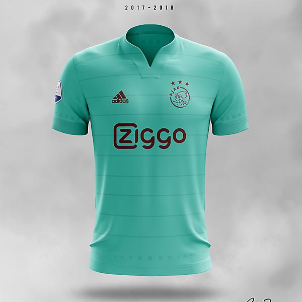Ajax 2017/18 · Away Kit Concept