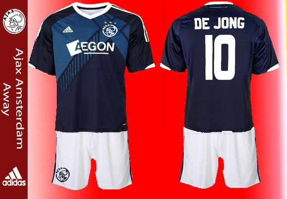 Ajax adidas away kits