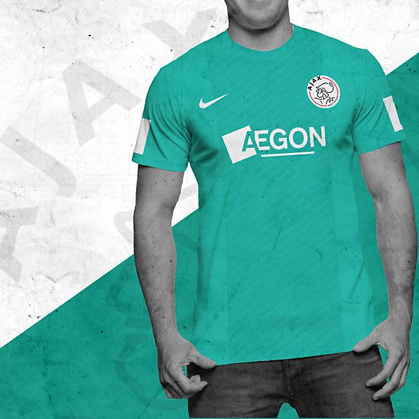 Ajax Nike Away Shirt