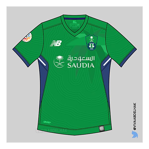 Al-Ahli Saudi Kits Concept