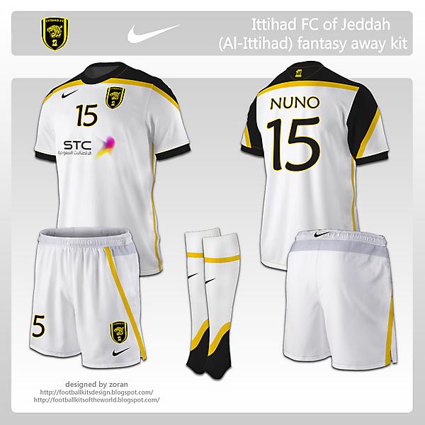Ittihad FC of Jeddah fantasy away