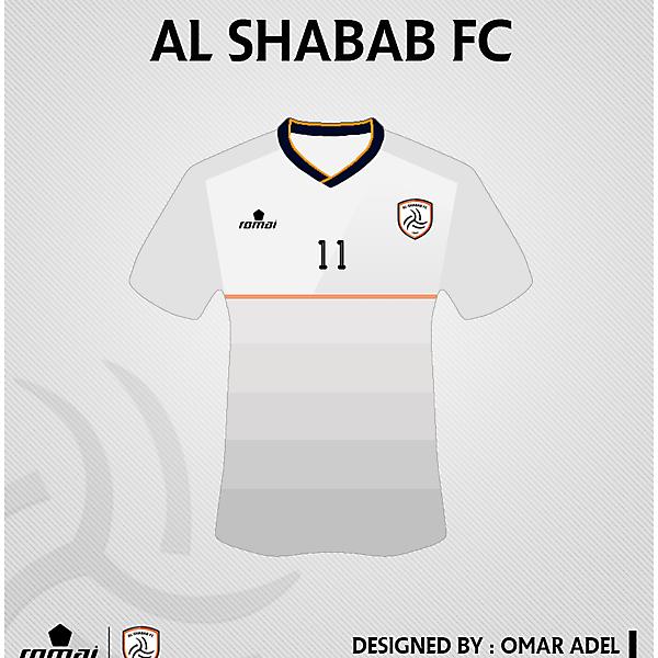 AL SHABAB SAUDI FC HOME KIT