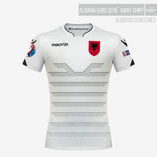 Albania UEFA EURO 2016™ Away Shirt