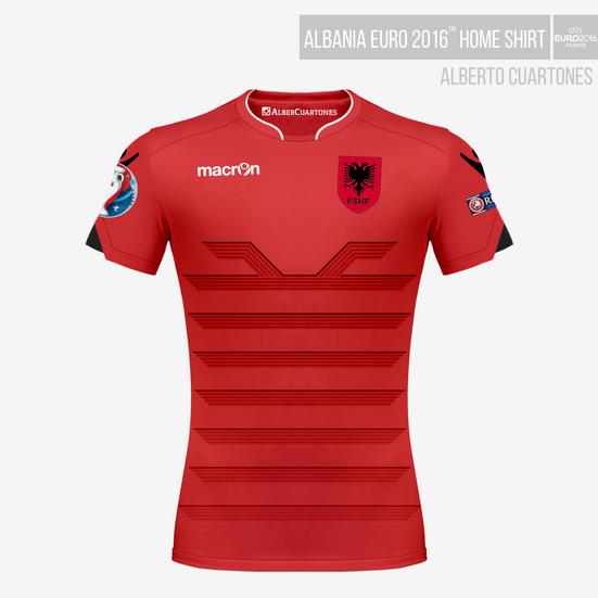 Albania UEFA EURO 2016™ Home Shirt