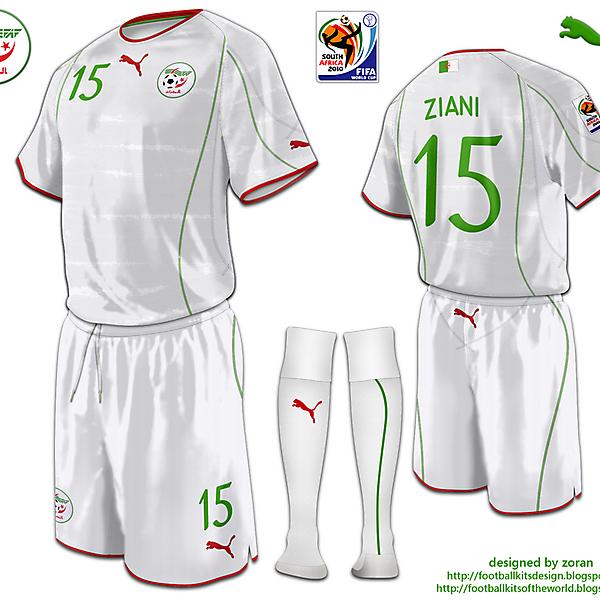 Algeria World Cup 2010 fantasy home