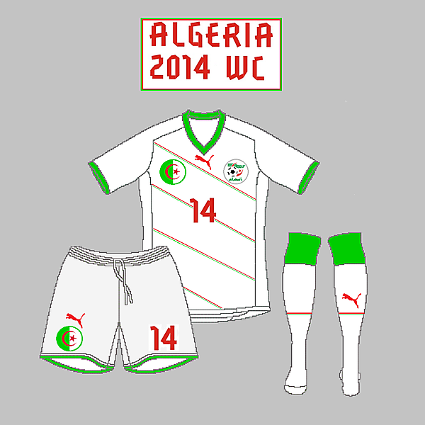 Algeria Home kit - Puma
