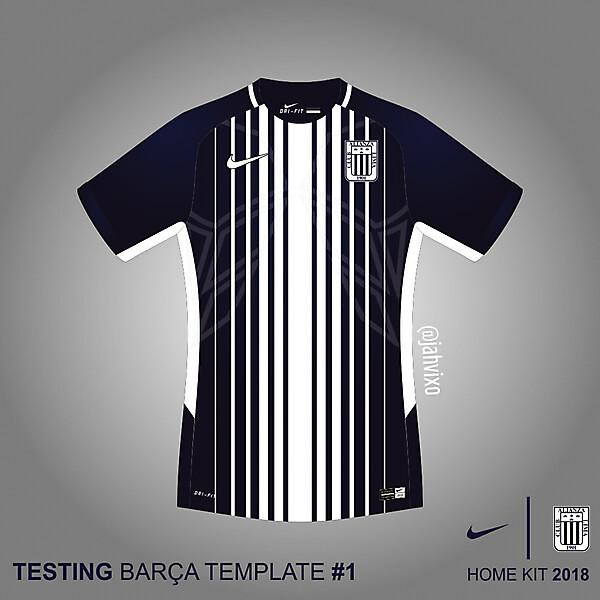 Alianza Lima Nike 2018 Barca #1