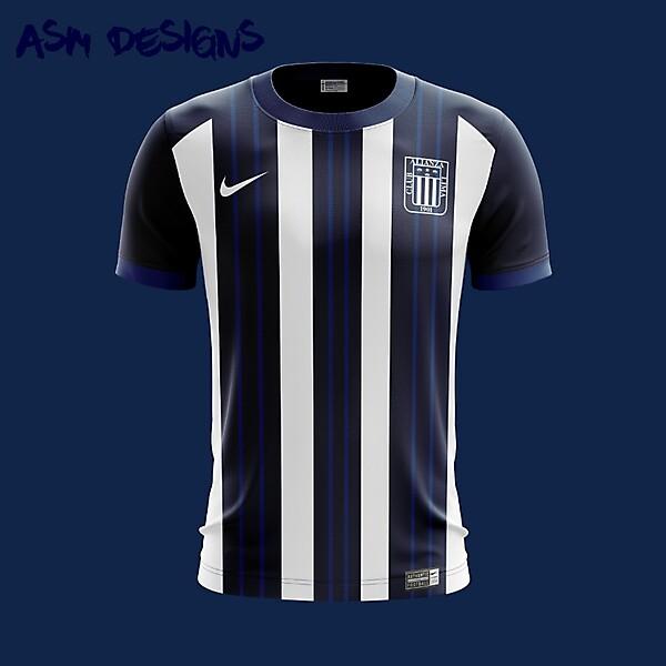 Alianza Lima Nike 2018 Home Kit