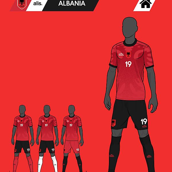 alis. X Albania - Home