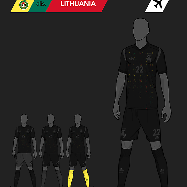alis. X Lithuania - Away