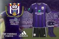 Anderlecht 2014-2015 Home Kit