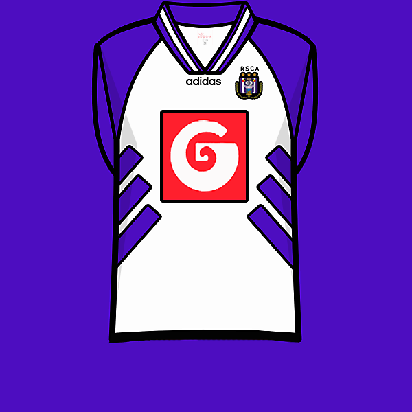 Anderlecht 94-95 home shirt.