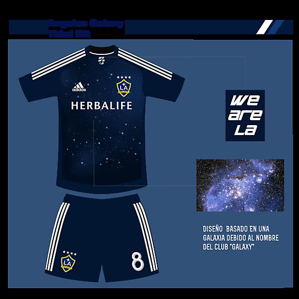 Angeles Galaxy Third