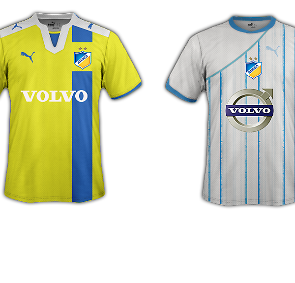 APOEL FC 2014/2015 Fantasy Puma Kit