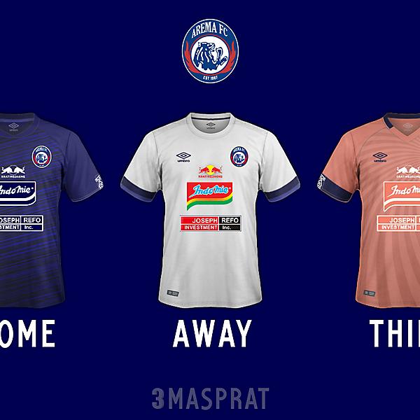 Arema FC Concept Kit