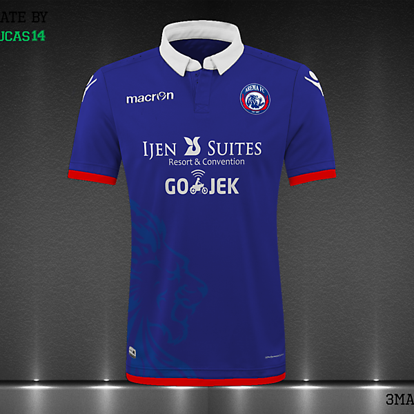 Arema FC Home Concept Kit