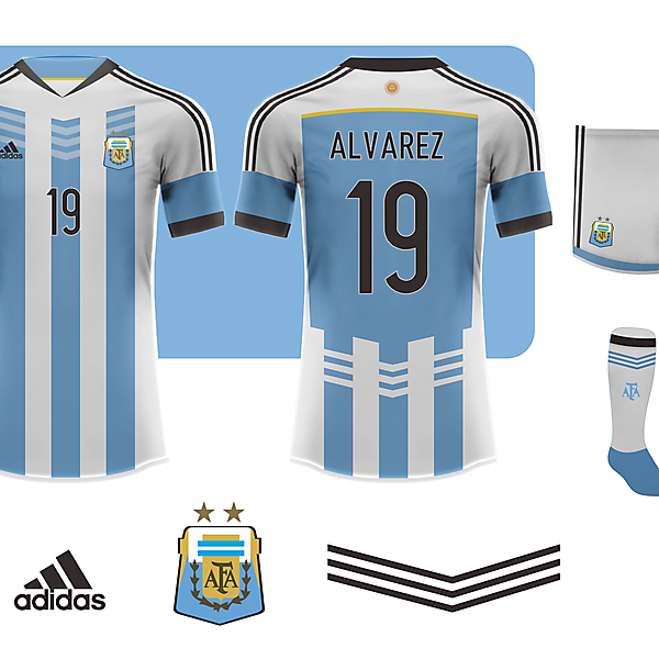 ARGENTINA - Fantasy jersey 2014