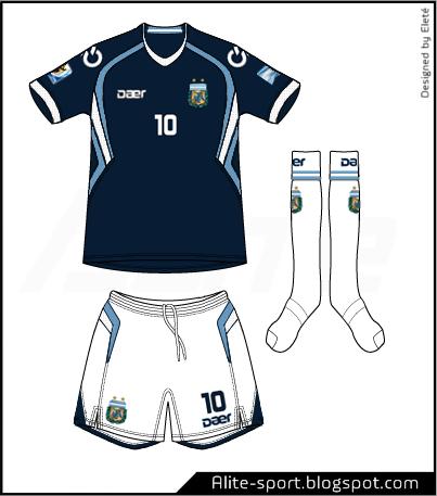 Argentina Daer Away Kit