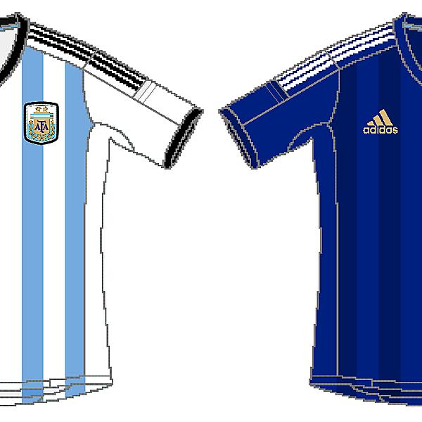 Argentina Adidas World Cup Kits