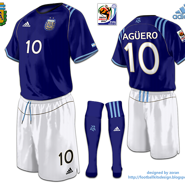 Argentina World Cup 2010 fantasy away