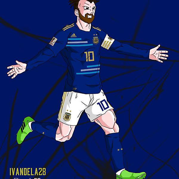 Argentina Away Kit 18