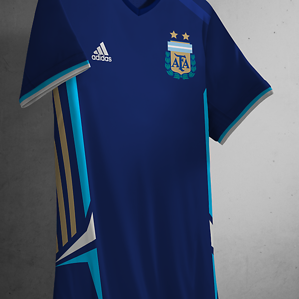 Argentina Away Kit Adidas