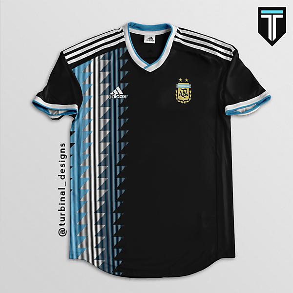 Argentina Away Kit Concept