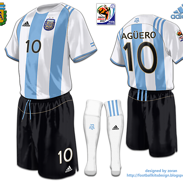 Argentina World Cup 2010 fantasy home