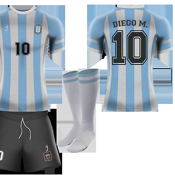 Argentina home kit - Fantasy J-sports