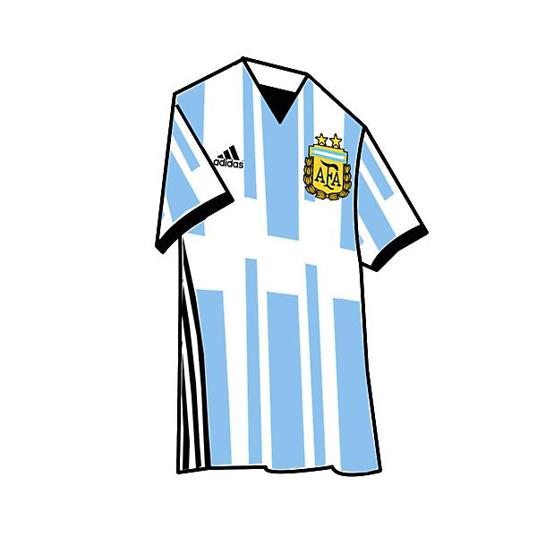ARGENTINA KIT HOME 2017
