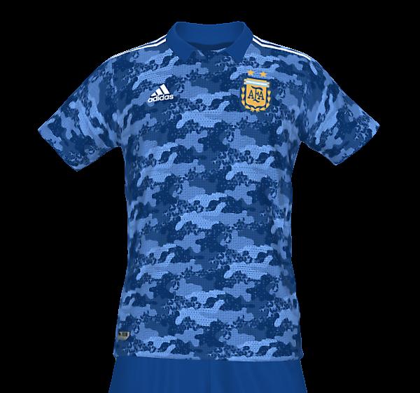 Argentina National Team Fantasy Away Kit (In Memory Of Diego Maradona)