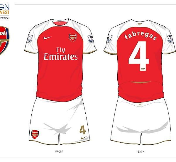 Fantasy Arsenal Football Kit
