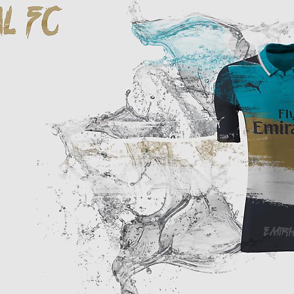 Arsenal 15/16 3rd Kit Design