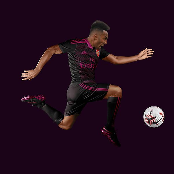 Arsenal 20/21 Concept Kit Aubameyang THIRD