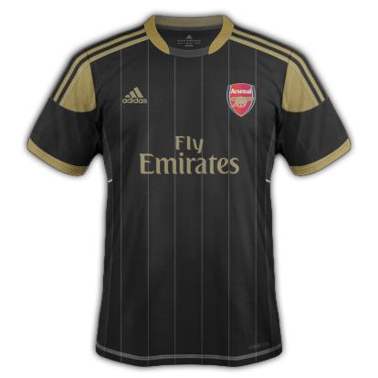 Arsenal fantasy kits with adidas