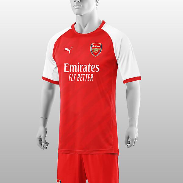 Arsenal   2021-22 Home Shirt