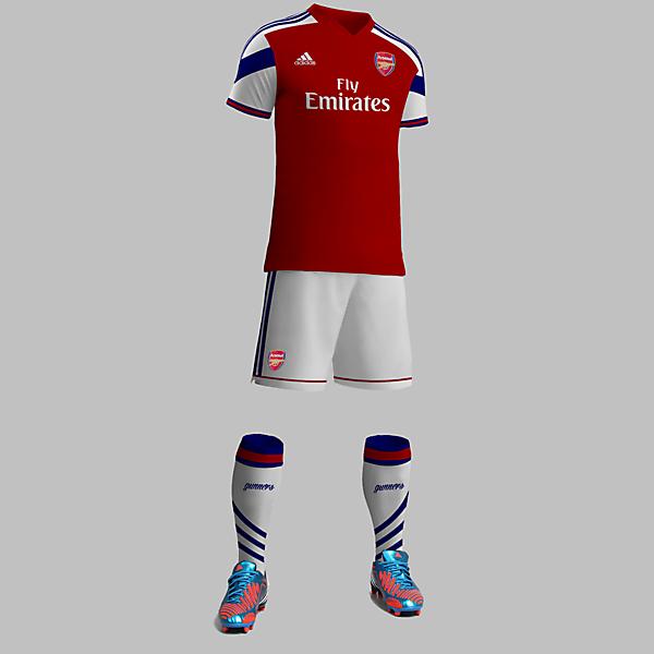 Arsenal Adidas Home Kit Design