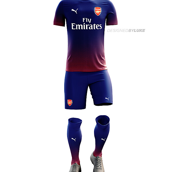 Arsenal Away 16/17