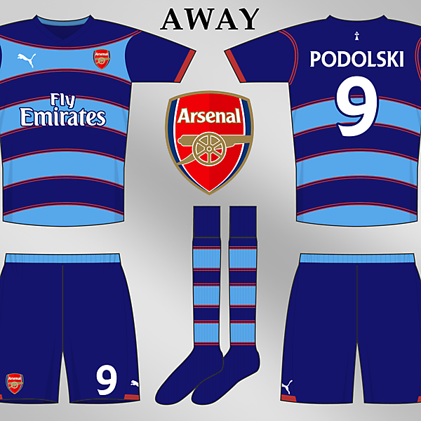 Arsenal Away